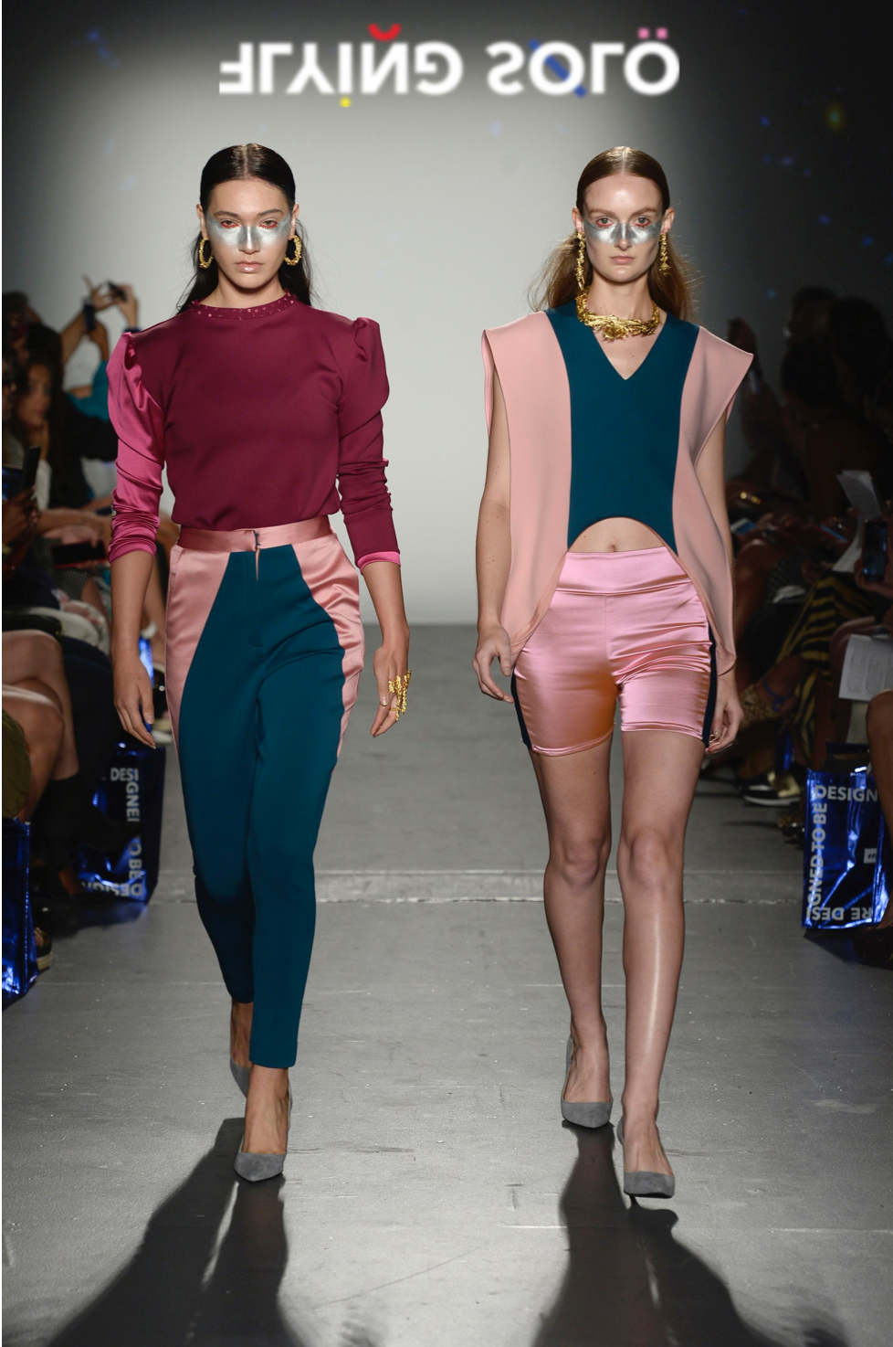 Emerging Designers Shined During The Flying Solo Nyfw Fashion Show Posh Meke